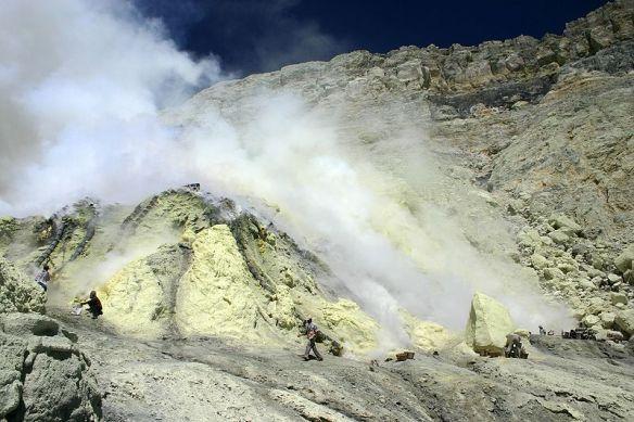 Volcà Kawah Ijen (Java, Indonesia)