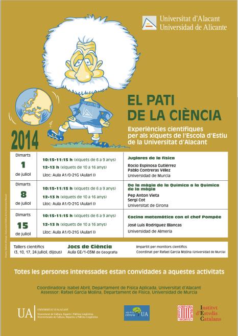 el pati de ciencia 2014